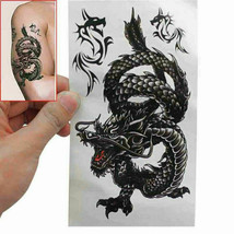 Men / Women Fashion Temporary Tattoo Dragon Pattern Body Art Waterproof Sticker image 2