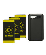 3X Quantum 6170mAh Extended Slim Batteries+Charger For Samsung S5 i9600 ... - $12.99+
