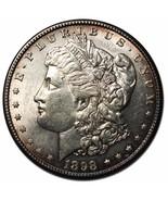 1898S MORGAN SILVER ONE $1 DOLLAR Coin Lot # MZ 3655 - €144,53 EUR