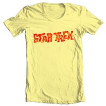 Star Trek Logo Tee Kirk  Spock T-shirt vintage original crew 100% cotton CBS1203 image 2