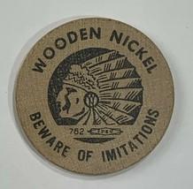 VTG Old Wooden Nickel Elect Virgil C. Spence State Senate Election Campa... - $11.75