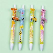 JESJELIU® 4Pcs/Set Cute Cartoon Ballpoint Pen Stationery School Office S... - $4.46