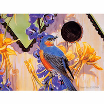 Abstract Bird 16X20'' Paint By Number Kit DIY Acrylic Painting On Canvas... - $9.59