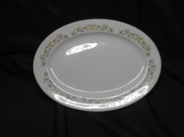 "Fine China of Japan BELL FLOWER  #2999 Oval Serving Platter 14 1/2"" L x ... - $16.75"