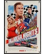 "TALLADEGA NIGHTS Ricky Bobby- 27""x40"" D/S Original Movie Poster One Shee... - $29.39"