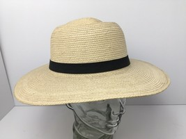 Vintage Sun Hat Palm Leaves Wide Brim Handcrafted Maya Quiche Indians 7 ... - $52.57