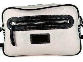 Auth Burberry London Blue Label Pink Canvas & Brown Leather Shoulder Bag Purse - $167.31