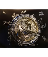 2017 GOLDEN STATE WARRIORS TEAM AUTOGRAPHED SIGNED 16x20 PHOTO w/COA NBA... - $675.00