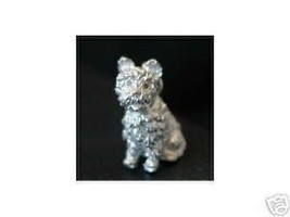LOOK 3D PUPPY DOG CHARM Sterling Silver .925 pendant Jewelry - $20.74