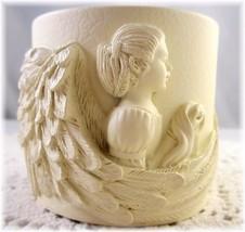 Legend Of The Dreamers Angel Tea Light Holder Light Dimensional 2011 New... - $14.00