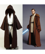 Star Wars Obi Wan Kenobi Jedi Knight Cosplay Costume Halloween Kids Outf... - $45.28+