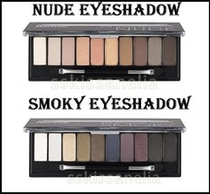 Flormar Eyeshadow NUDE or SMOKY Eyeshadow Palette 10 colours - $15.59