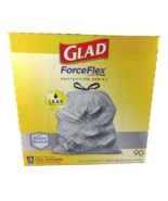 Glad ForceFlex Odor Shield 13 Gal Kitchen Drawstring Trash Bags (90 Count) - $36.79