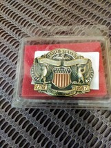 Vintage Belt Buckle 200 Anniversary 1787-1987 Constitution Commemorative Mens Be image 4