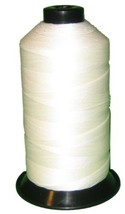 Bonded Nylon Sewing Thread #92 T90 1850yds for Outdoor, Upholstery White - $12.40