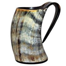 Heloween gift  viking drinking horn Beer Whisky mug tankard graduation gift - $39.60