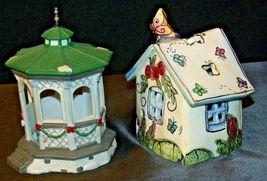 House Village (Candle Holders) AA20-2061 Vintage Pair image 5