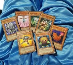 Yu Gi Oh Card Lot 1st Edition Ed Yugioh Grand Mole Kuriboh Tutu Fox Fire... - $17.81