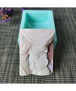 Silicone Mould Mother and Son Candle Handmade Soap Making Epoxy Resin Cl... - $15.88