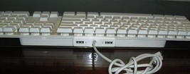 Apple White USB Keyboard A1048 with Two USB Ports G2 - $39.99