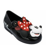 NWT Mini Melissa Baby Sweet Love Ballerina Sandals Mary Jane Minnie Blac... - $68.00