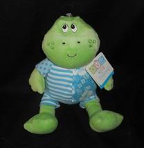 """11 """" Kinder Bevorzugt Baby Grüner Frosch Blau Outfit Plüschtier Plüsch T... - $25.40"""