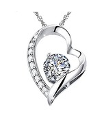 """Eliana and Eli Women Girls- Open Heart """"You are My Love Forever Solitair... - $16.07"""