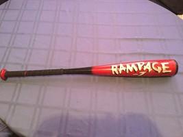 Bat Easton Rampage  7 baseball bat  28 inch 21 ounces black red Model BX45 - $12.99
