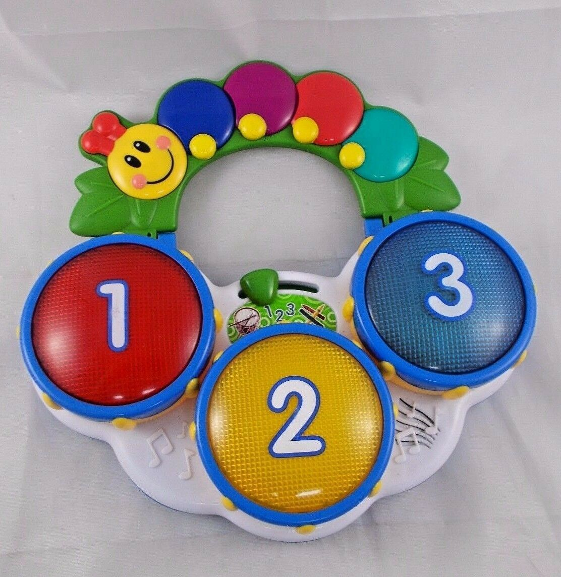 "Primary image for Baby Einstein Music Drum Colors English Spanish French 9.5"" Tall Kids II"