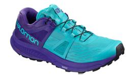 Salomon Ultra Pro Size 9 M (B) EU 41 1/3 Women's Trail Running Shoes Blue 404948