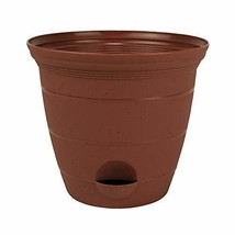Plastic Self Watering Flower Potted Clay Color 6, 8, 10, 12 inch Planter... - $49.50