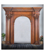 Stunning Huge Solid Mahogany Wood Archway Entry Door 143'' x 126''H. - $13,880.00