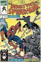 The Deadly Foes Of Spider-Man Comic Book #1 Marvel 1991 Near Mint Unread - $2.99