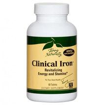 Europharma/Terry Naturally - Clinical Iron - 60 Tablets-SEE DESCRIPTION - $10.00