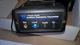 Williams Personal PA PPA T17E Transmitter for Translation System T17 FM ... - $195.00