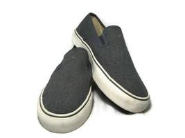 Polo Ralph Lauren Mytton Men's Canvas Blue Sneakers Shoes Burlap Slip On... - $38.60