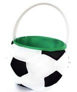 "DanDee Soccer Ball Sport Easter Birthday Graduation Basket Gift 7"" wide ... - $12.38"