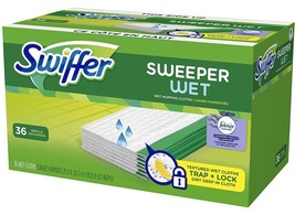 Swiffer Sweeper Wet Mop Pads Refills Multi-Surface 36 PACK - $19.36