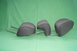 10-13 Kia Soul Rear Back Cloth 3 Headrests Headrest Set image 6