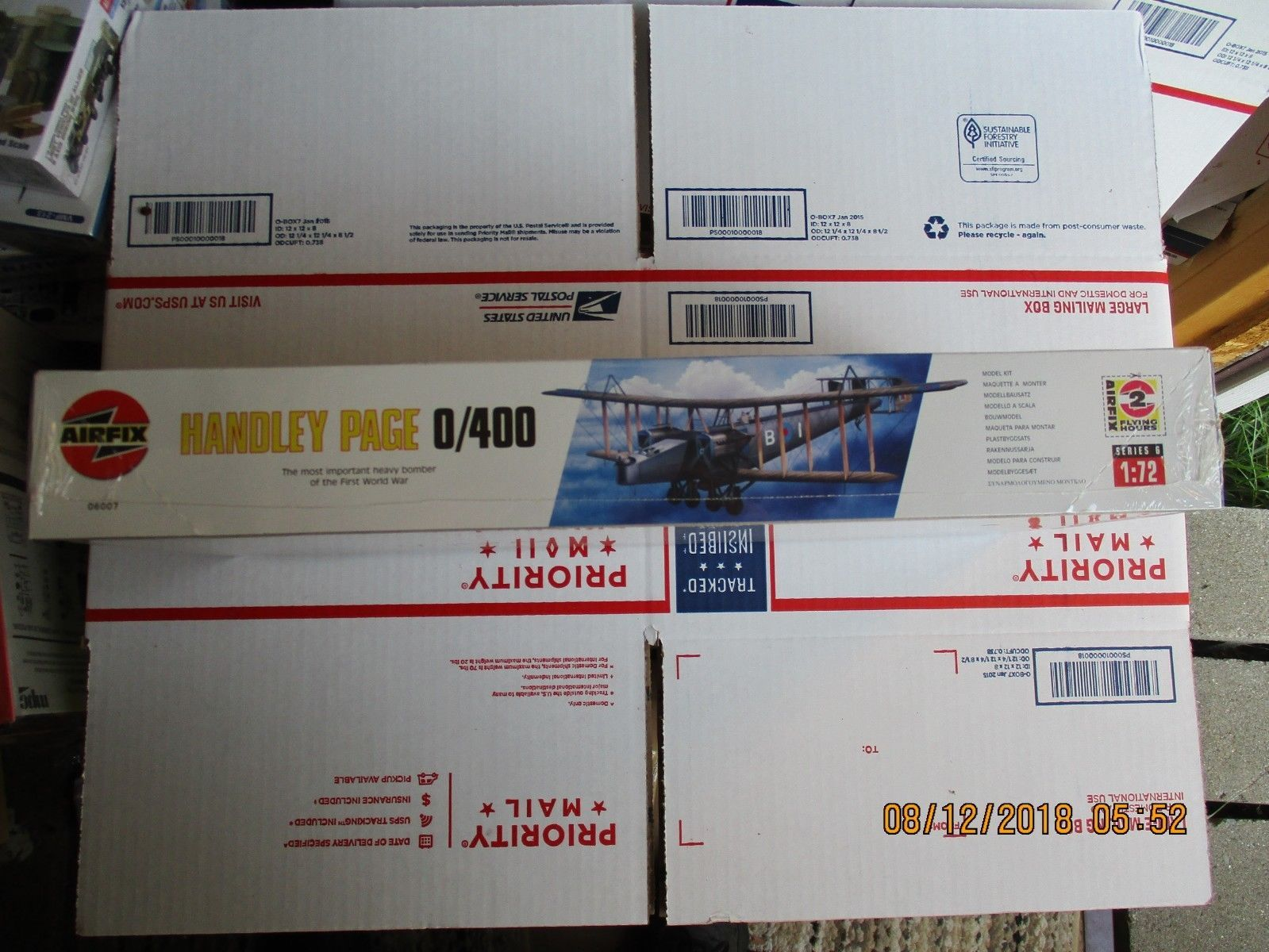 Airfix Handley Page 0/400 1/72 scale