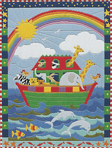 Noah's Ark Long Stitch Kit from Anchor AL82149 - $45.52
