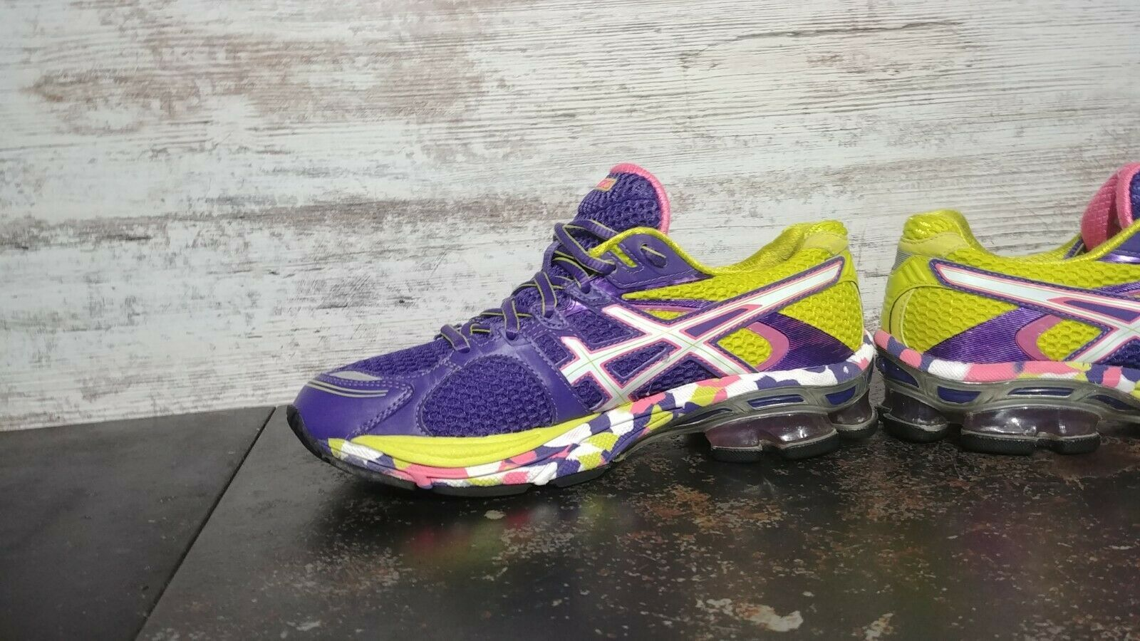 Womens Asics Gel Sendai Running Shoes SZ 6.5 37.5 Used T36DQ Sneakers Trainers image 5