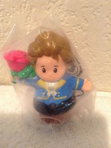 New Fisher Price Little People Disney Prince Adam Castle For Belle w/ Rose Rare! - $6.95