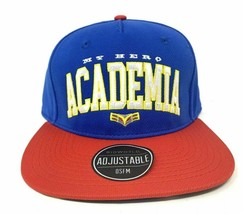 My Hero Academia Color Block Anime Logo All Might Snapback Cap Hat - $19.79