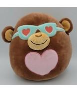 "Squishmallow Boyd The Valentine Monkey w Glasses 8"" - $14.84"
