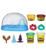 Play-Doh Sparkle Snow Dome Set Featuring Disney's Frozen - $18.99