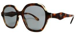 NEW Prada SPR06UTH8-9K1 Sunglasses Havana Brown Frame Grey Lens 52-18 140 2N P69 - $120.93