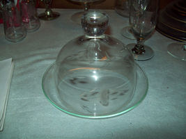 Princess House Glass CHOICE OF Cheese Candy Condiment Dish or Vase  S&P carafe - $5.50