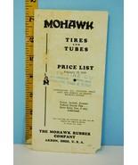 1939 Mohawk Tire & Rubber Company Automotive Pr... - $9.46