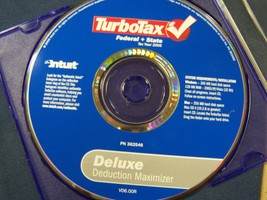 Turbotax tax year 2006 federal and state deluxe Intuit 362546  - $14.84